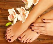 Spa Pedicures only $50 Today and Friday