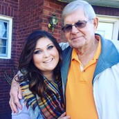 "My ""Pa"" and I at Thanksgiving"