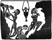 15th Century African Mining Art