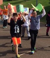 Schwenksville Students Take Unity Walk