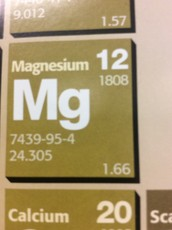 The element Magnesium