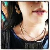 Intertwined Snake Chain Necklace now $21