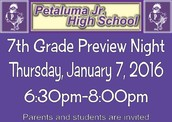 Attention 6th grade parents!!! Junior High is coming!!!