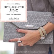 City Slim Clutch for only $19.99