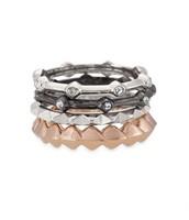 Katelyn Mixed Metal Ring (size 8)