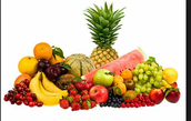 Debes comer las frutas.