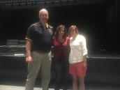 Mr. Wahr, Mrs. Wright and Mrs. Elliott