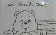 Bible Memory + Love Growth Chart