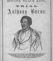 Burns Fugitive Slave Case of 1854