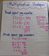 Breaking apart to Multiply Lesson 3-5