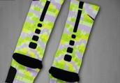 The Lime Prism Elite socks