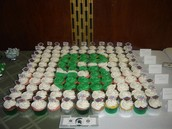 spartan cupcakes