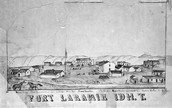 Fort Laramie, Wyoming 1800's