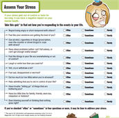 Assess your stress