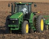 When your son is ready to move out into the field, don't forget the John Deere 6125R 6R Series Tractor