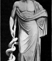 Aesculapius honored on earth