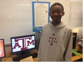 Jaden wants to be an Aggie!