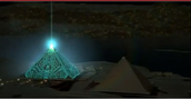I call this one the UGP (unidentified glowing pyramid)