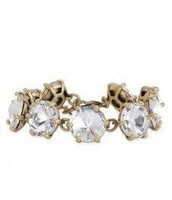 Amalie sparkle bracelet in gold