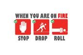 Stop. Drop. Roll.