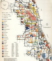 Community Settlement Map 1950