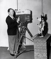 Disney prepares for his first tv broadcast – 1954