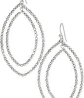 Bardot Hoop Earrings $17 (Originally $34)