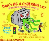 if your cyber bully you're hurting people