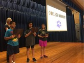 Ms. Allison's 4th Grade Panthers Class Share About Colorado University During College Monday Assembly!