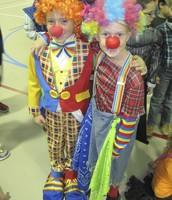 A couple of 2nd grade clowns!