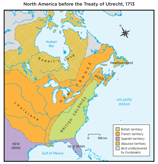 Provinces Of France Map In English.New France British North America Smore Newsletters