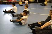 Developing gross motor skills in Reception PE.