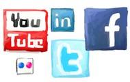 De sociale medier