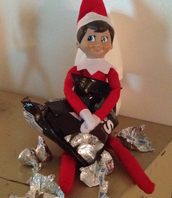 """Our class """"Elf on the Shelf,"""" Chip!"""