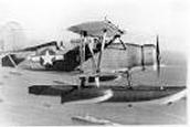 U.S.A. Coast Guard: Curtiss SOC-4 Seagull- floatplane.