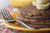 Teff Banana Pancakes