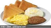 Debes comer desayuno.