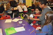 CWES - Students designing a car for our model city