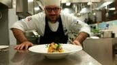 Lo chef Giuseppe Panebianco