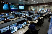 Mission Control at Houston