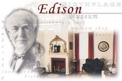 Where did Thomas Edison grow up and live?