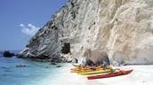 Sea Kayaking on Kefalonia Island