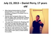 Cyberbullying Killes