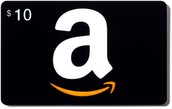 A $10.00 Amazon Gift Card