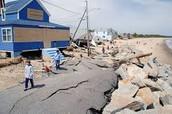 beach erosion causes