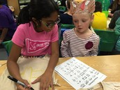 Mrs. Cumbie's 4th Grade Buddy Class Visit