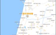 מפה של בנימינה