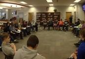 Divergent book discussion @ SDHS