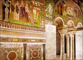 Lloc on està situat el mosaic de Teodora