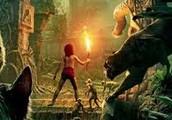 "Mowgli con ""La flor roja"""
